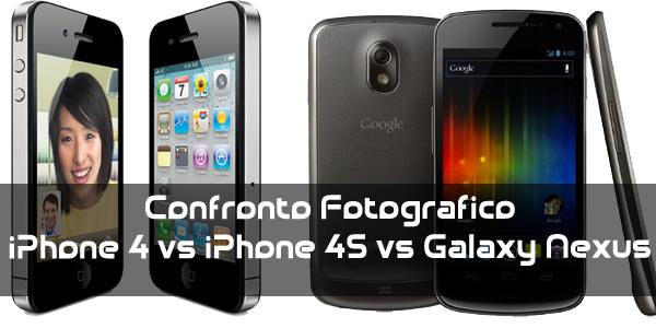 News | Scontro fotografico a tre: Iphone4 vs Iphone 4s vs Galaxy Nexus!