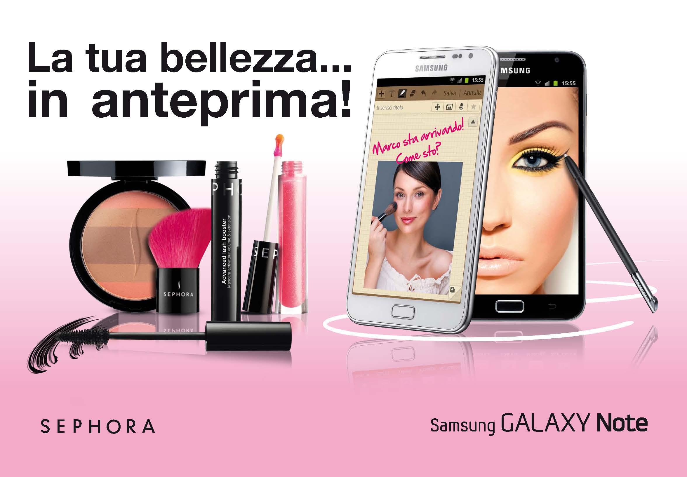 MissDroid| Samsung e Sephora si uniscono per offrire alle donne un Make-up tecnologico