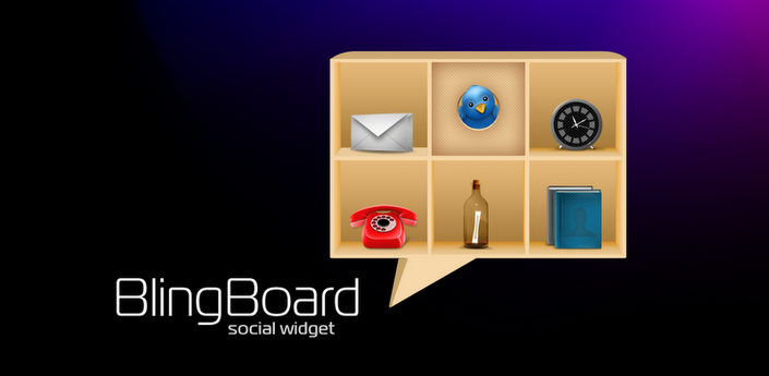 News Apps   Tutti i social in un widget con BlingBoard: Social Widget.