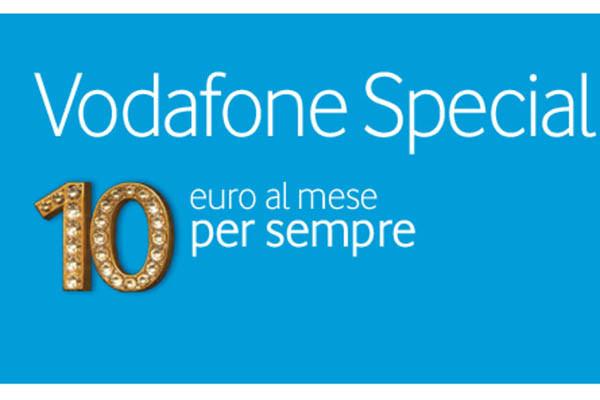 Novità  Vodafone lancia un nuovo piano: Minuti, sms ed Internet a soli 10€ per sempre!