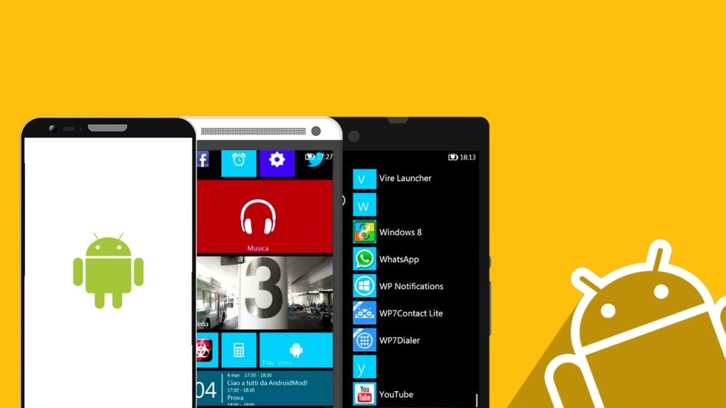 Android Windows Phone app