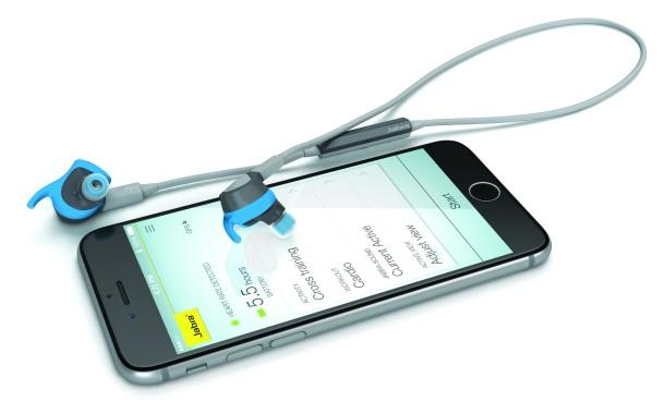 Jabra Sport Coach Wireless:  i primi auricolari al mondo senza fili per l'allenamento guidato e a tempo di musica