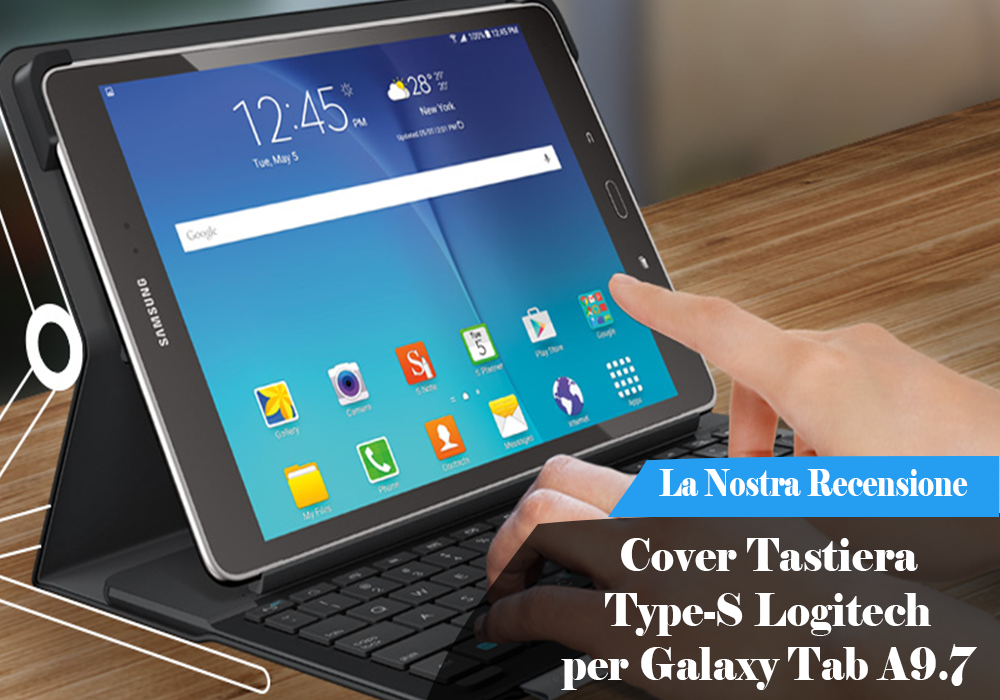 custodia per tablet galaxy tab a9.7