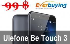 Ulefone be Touch 3 a soli 99$ su Everbuying! Ecco cosa fare..
