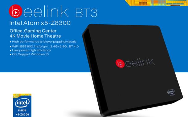 Beelink Intel BT3 TV Box con processore Intel disponibile su gearbest