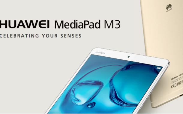MediaPad M3: il tablet sviluppato in collaborazione con HARMAN International