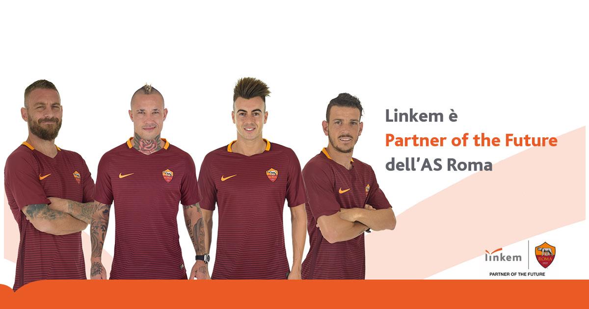 AS Roma e Linkem SpA si uniscono per il progetto Partner of the future