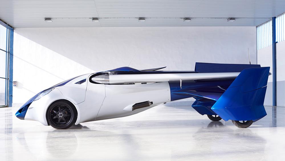 Auto volanti: un sogno che si realizza ..