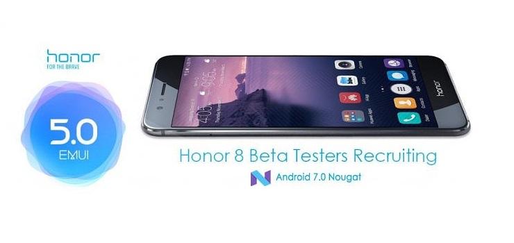 Android Nougat disponibile per Honor 8 (ecco come aggiornare)