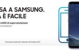 Samsung valuta fino a 600€ il tuo vecchio smartphone